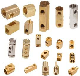 BRASS ELECTRICAL BLOCKS