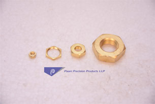 BRASS-HEX-NUTS