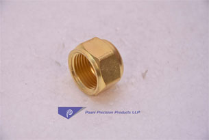 BRASS-HEX-NUT